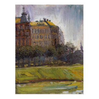 On the Danube Canal by Richard Gerstl Postcard