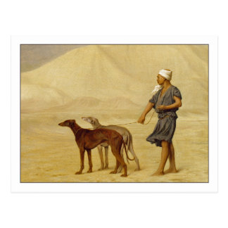 On the Desert by Jean-Leon Gerome Post Card