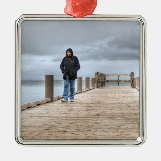 On The Dock Christmas Ornament