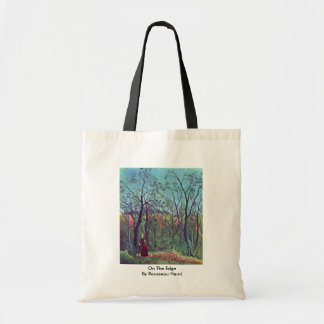 On The Edge By Rousseau Henri Tote Bags