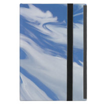 On the edge of a Dream. Blue Sky Clouds Case For iPad Mini