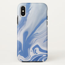 On the edge of a Dream.Blue Sky Clouds iPhone X Case