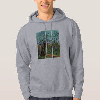 On the edge of a forest pullover