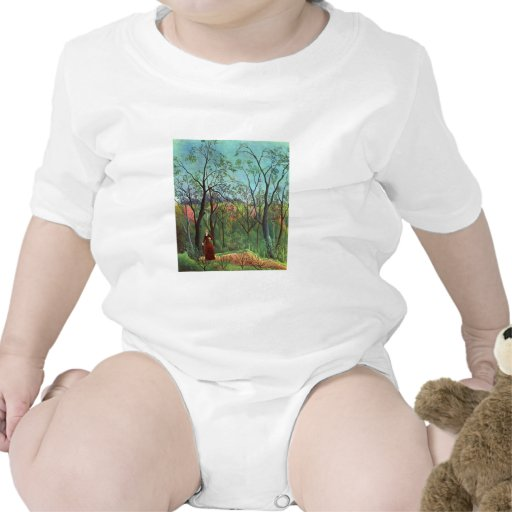 On the edge of a forest tshirts