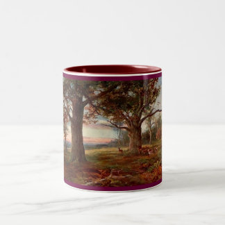 On-the-Edge-of-Sherwood-Forest Two-Tone Coffee Mug