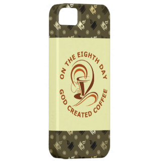 On The Eighth Day God Created Coffee iPhone 5 Cover