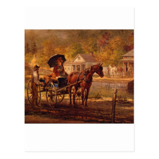 On the Erie Canal_Great Work of Art Postcard