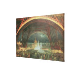 On the esplanade of the Champs de Mars Canvas Print