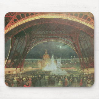 On the esplanade of the Champs de Mars Mouse Pad