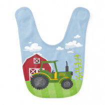On the Farm Baby Bib