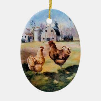 On the Farm Ornament