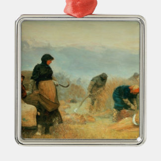 On the Fens, 1878 Christmas Ornament
