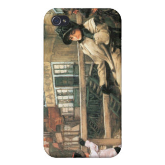 On the ferry waiting by James Tissot iPhone 4 Case