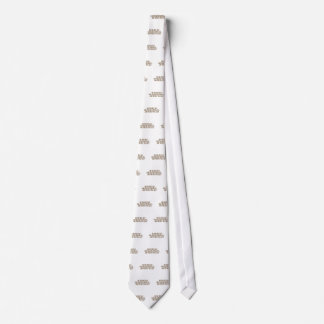 On the first day God created chocolate... Neck Tie
