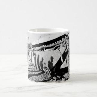 On the flank of a battle-wrecked alligator_War Ima Coffee Mug