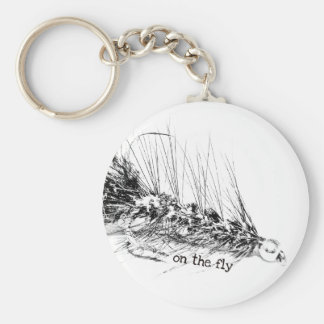 On The Fly - Fisherman's Fly Pattern Bait Keychain
