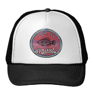 ON THE FLY WYOMING TRUCKER HAT