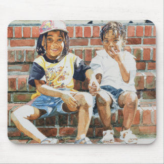 On the Front Step 2002 Mouse Pad