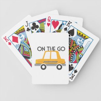 On The Go Bicycle Playing Cards