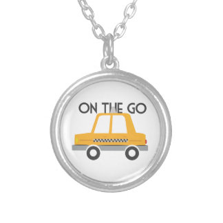 On The Go Round Pendant Necklace
