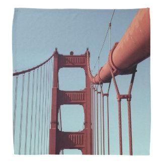 On The Golden Gate Bridge Bandana