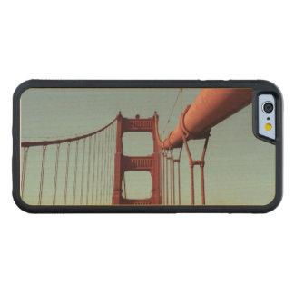 On The Golden Gate Bridge Carved Maple iPhone 6 Bumper Case