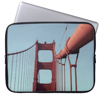 On The Golden Gate Bridge Computer Sleeve
