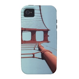 On The Golden Gate Bridge iPhone 4 Cases