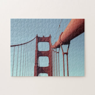 On The Golden Gate Bridge Jigsaw Puzzle