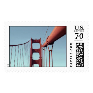 On The Golden Gate Bridge – Large Postage