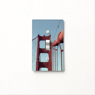 On The Golden Gate Bridge Light Switch Cover