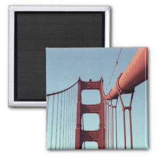 On The Golden Gate Bridge Magnet