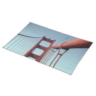 On The Golden Gate Bridge Place Mats