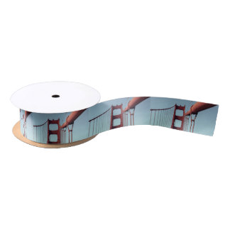 On The Golden Gate Bridge Satin Ribbon