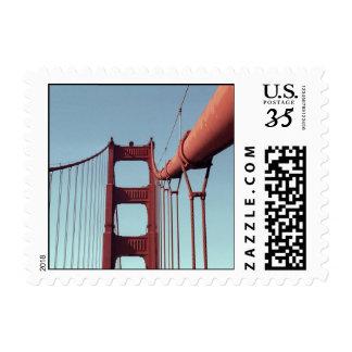 On The Golden Gate Bridge – Small Postage