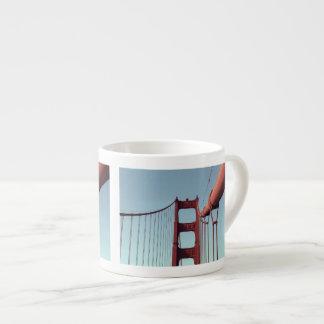 On The Golden Gate Bridge 6 Oz Ceramic Espresso Cup