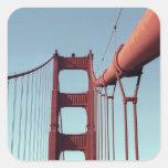 On The Golden Gate Bridge Stickers