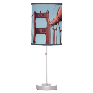 On The Golden Gate Bridge Table Lamp