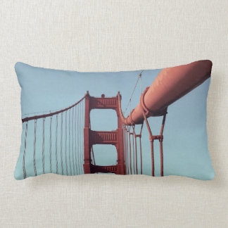 On The Golden Gate Bridge Throw Pillow