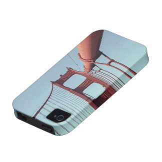 On The Golden Gate Bridge Vibe iPhone 4 Covers