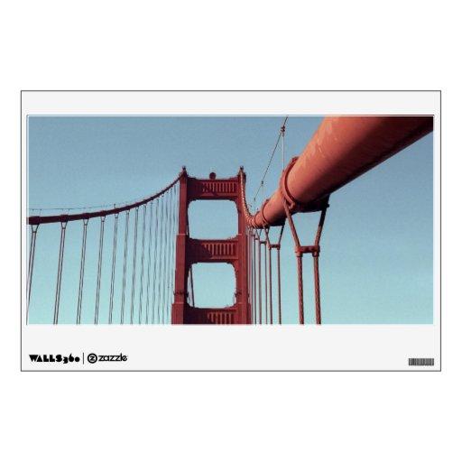 On The Golden Gate Bridge Wall Decals