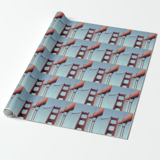On The Golden Gate Bridge Wrapping Paper