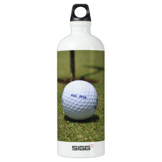On the Golf Course Aluminum Water Bottle