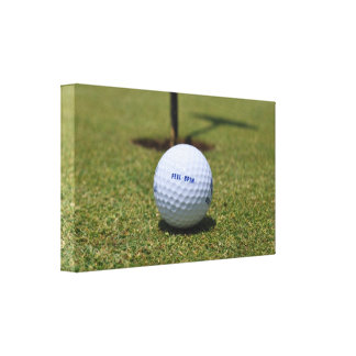 On the Golf Course Canvas Print