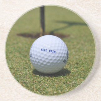 On the Golf Course Beverage Coaster