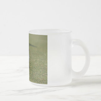 On the Golf Course Frosted Glass Coffee Mug
