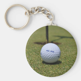 On the Golf Course Keychain