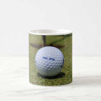On the Golf Course Magic Mug