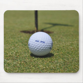 On the Golf Course Mouse Pad