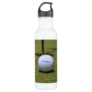 On the Golf Course Stainless Steel Water Bottle